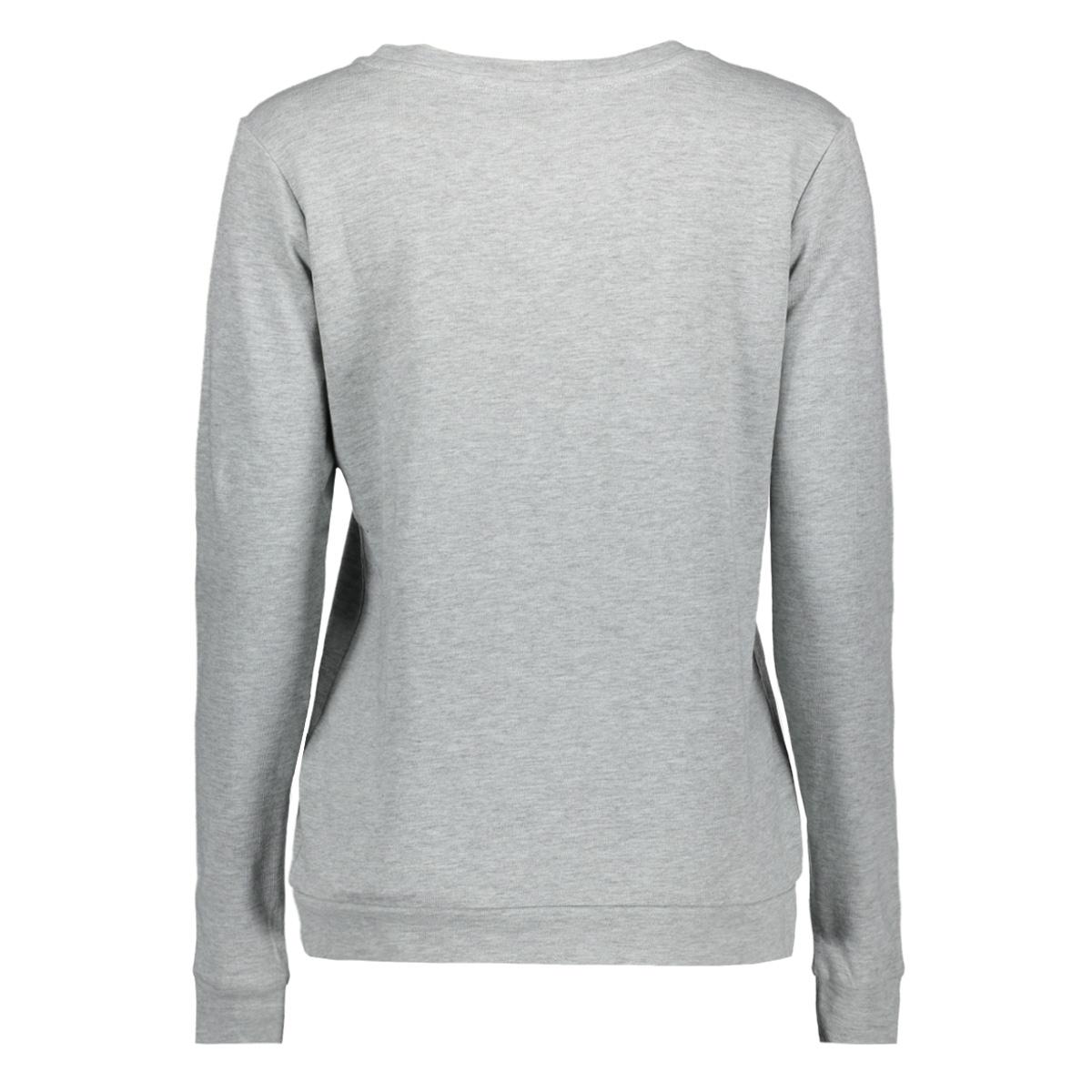 jdymilly l/s print sweat swt rpt 15133660 jacqueline de yong sweater blue haze/light