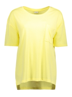 Jacqueline de Yong T-shirt JDYMERLE S/S POCKET TOP SWT 15142864 Lemonade