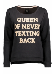 Only Sweater onlCLAIR SOUND L/S SWT 15146617 Black/Queen Of n