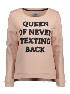 Only Sweater onlCLAIR SOUND L/S SWT 15146617 Cameo Rose/Queen Of N
