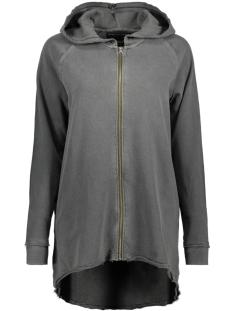 Only Vest onlKATIE L/S OVERSIZE WASHED SWT 15140644 Black/Washed