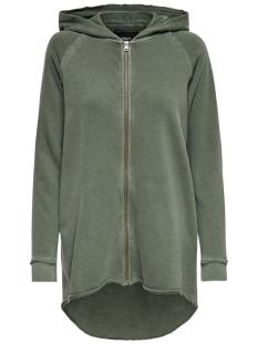 Only Vest onlKATIE L/S OVERSIZE WASHED SWT 15140644 Grape Leaf/Washed