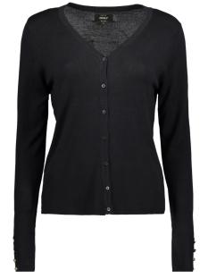 Only Vest onlDINA L/S CARDIGAN KNT NOOS 15143402 Black