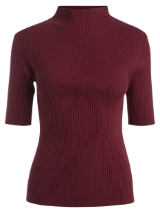 Pieces Trui PCVESLA 2/4 KNIT CLW 17083840 Tibetan Red