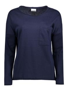 Noisy may Sweater NMCHRISTIAN L/S O-NECK SWEAT 4B 10180318 Navy Blazer