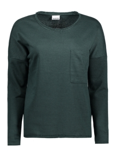 Noisy may Sweater NMCHRISTIAN L/S O-NECK SWEAT 4B 10180318 Green Gables