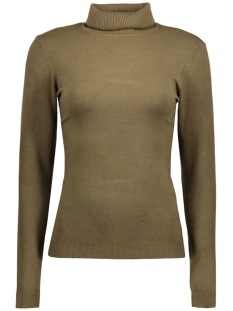 VMHAPPY LS ROLLNECK BLOUSE BOO 10182063 Dark Olive