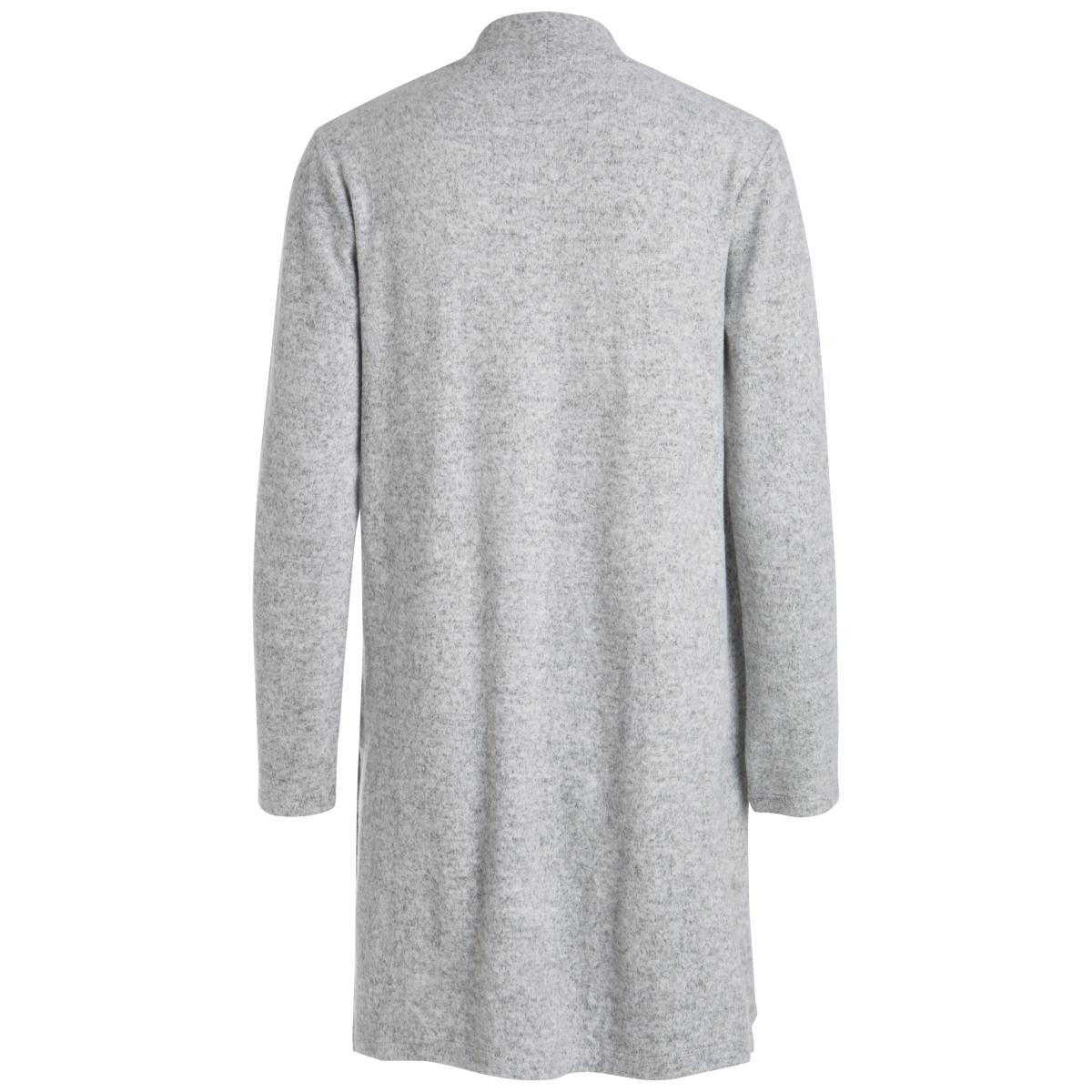 pcamila cardigan ff noos 17083139 pieces vest light grey melange
