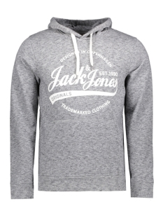 Jack & Jones Sweater JORPANTHER SWEAT HOOD NOOS 12125053 Asphalt