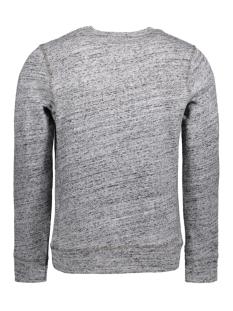 jjvrugged melange sweat crew neck noos 12127405 jack & jones sweater light grey melange