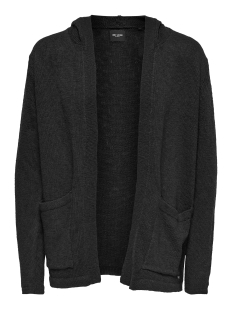 Only & Sons Vest onsJAY SLUB LONG CARDIGAN EXP 22007343 Black