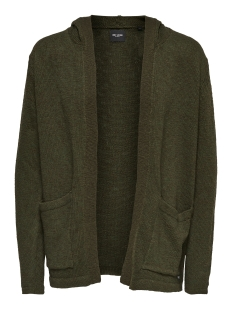 Only & Sons Vest onsJAY SLUB LONG CARDIGAN EXP 22007343 Forest Night