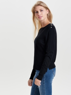 onldina l/s pullover knt noos 15142902 only trui black