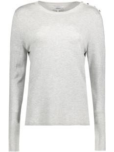 Only Sweater onlDINA L/S PULLOVER KNT NOOS 15142902 Light Grey Melange