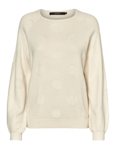 Vero Moda Sweater VMBALDWIN LS O-NECK BLOUSE 10182255 Eggnog