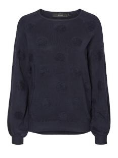 Vero Moda Sweater VMBALDWIN LS O-NECK BLOUSE 10182255 Navy Blazer