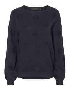 Vero Moda Sweater VMBALDWIN LS O-NECK BLOUSE 10182255 Navy Blazer