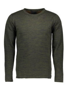 NO-EXCESS Sweater 82230806 059 Dk Army