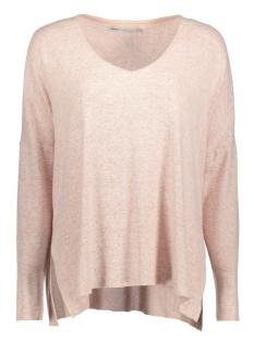 onlmaye l/s v-neck pullover cc knt 15138229 only trui rose dawn/ melange
