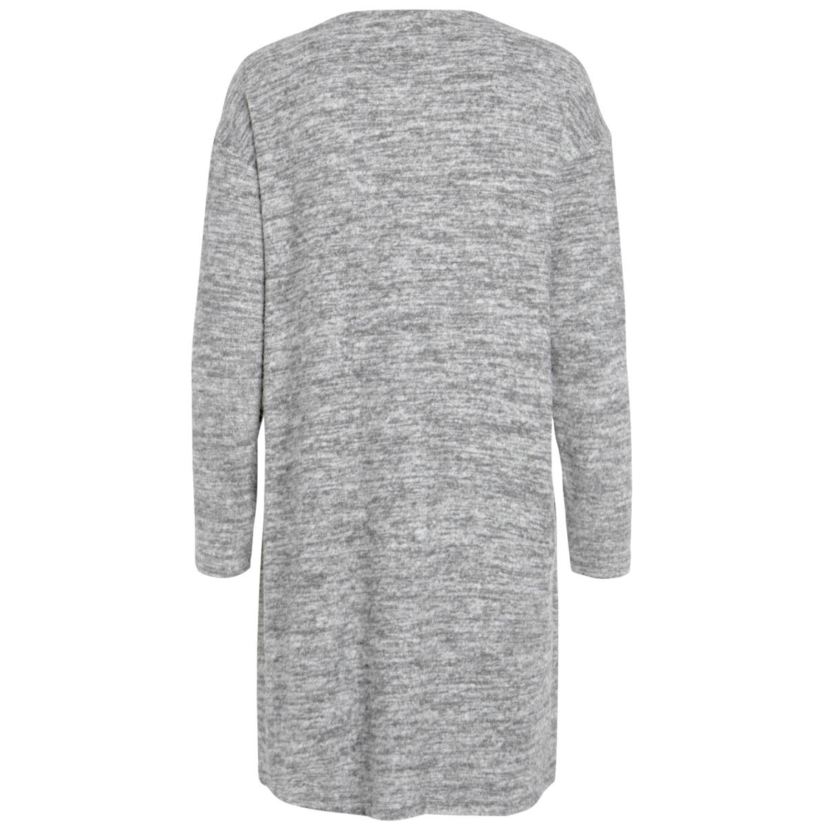 pcjolie ls cardigan 17084246 pieces vest light grey melange