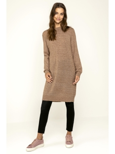 pcjane ls long wool knit noos 17082986 pieces jurk ginger snap