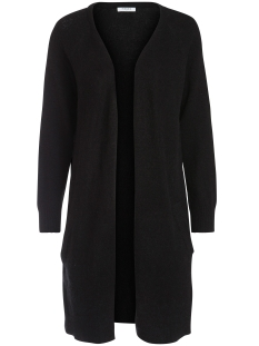 Pieces Vest PCJANE LS LONG WOOL CARDIGAN NOOS 17082985 Black