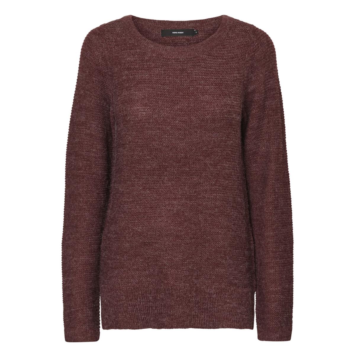 vmzoe joya ls boatneck blouse noos 10179354 vero moda trui zinfandel