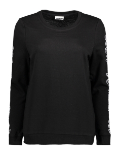 Noisy may Sweater NMNASHVILLE L/S SWEAT 6 10186131 Black/Bright White