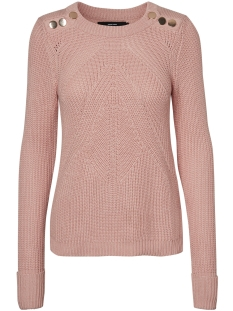 Vero Moda Trui VMSIGNE LS O-NECK BLOUSE 10185575 Rose Cloud