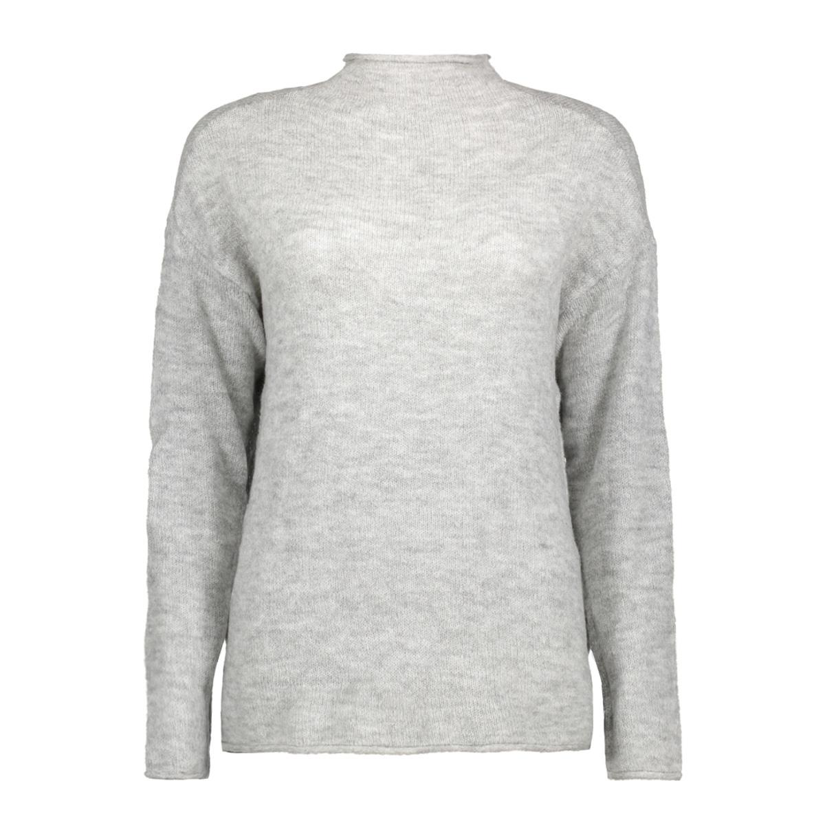 jdyalice l/s pullover knt 15137104 jacqueline de yong trui light grey melange
