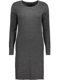 Vero Moda Jurk VMGLORY NINKA LS DRESS NOOS 10159394 Dark Grey Melange