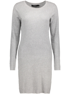 Vero Moda Jurk VMGLORY NINKA LS DRESS NOOS 10159394 Light Grey Melange