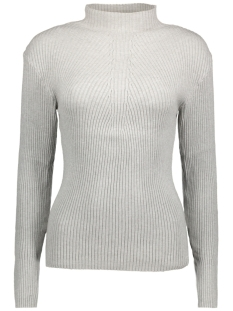 Pieces Trui PCDESLA LS KNIT 17079727 Light Grey Melange