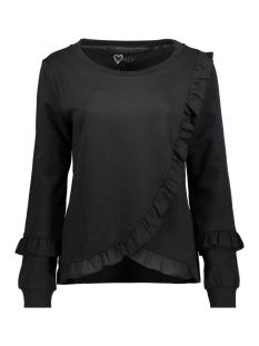 Only Sweater onlTAMMY L/S RUFFLE SWT 15142383 Black