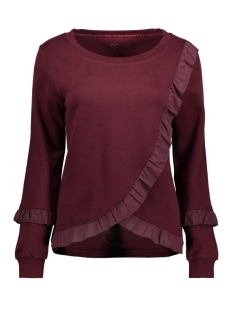 Only Sweater onlTAMMY L/S RUFFLE SWT 15142383 Port Royal