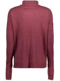 nmchen l/s high neck knit 4b 10177564 noisy may trui zinfandel