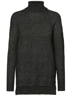 Noisy may Trui NMMILES L/S ROLL NECK KNIT 5 10180495 Black