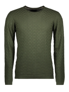 NO-EXCESS Trui 82230801 Dk army