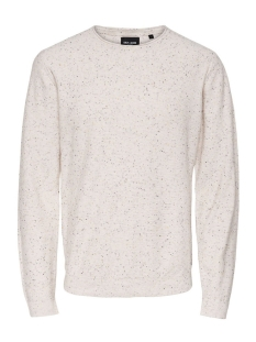 Only & Sons Trui onsDIAN NAPS CREW NECK KNIT NOOS 22003869 Cloud Dancer