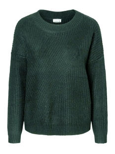 Noisy may Trui NMEDNA L/S O-NECK KNIT 4B 10177486 Green Gables