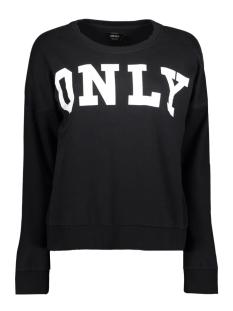 Only Sweater onlBETTE LOGO LS SWT 15145063 Black/WHITE