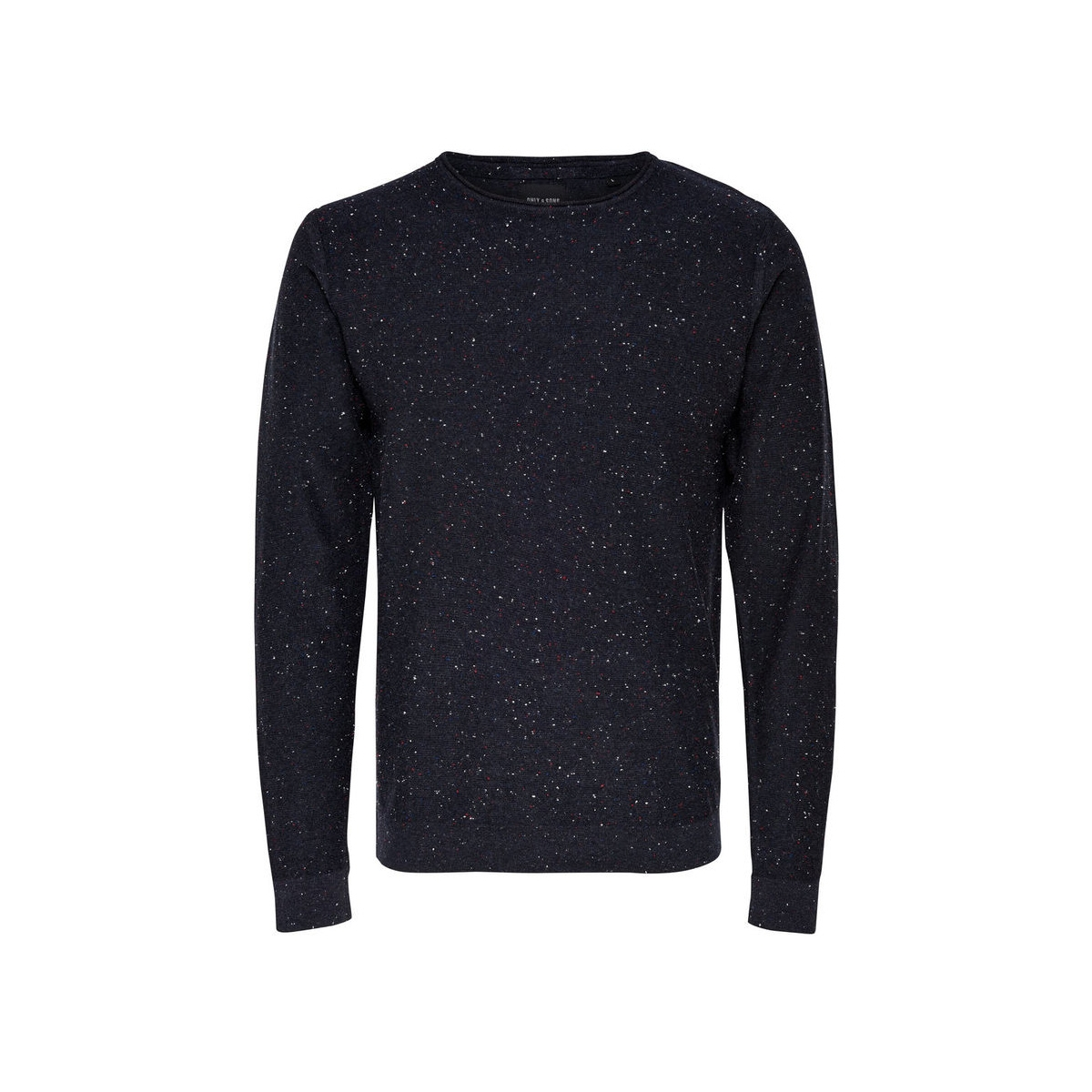 onsdian naps crew neck knit noos 22003869 only & sons trui dark navy