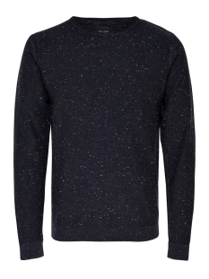 Only & Sons Trui onsDIAN NAPS CREW NECK KNIT NOOS 22003869 Dark Navy