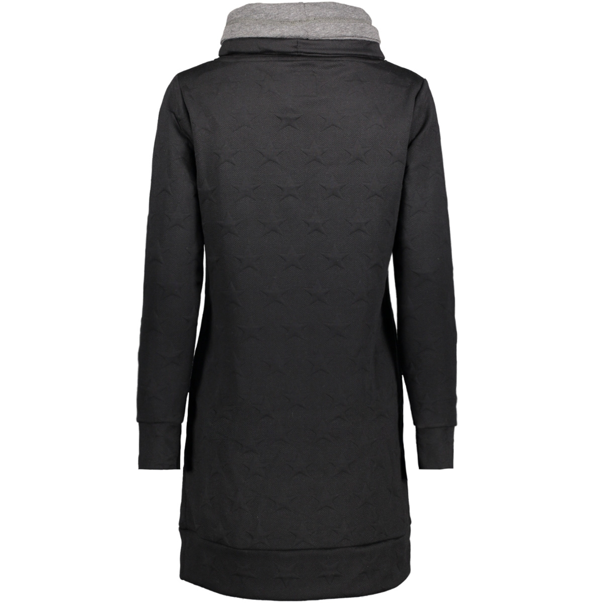 onlserena bette l/s jacquard swt 15144641 only sweater black