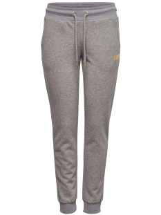 Only Play Sport broek onpGOLD GLITTER SLIM SWEAT PANTS 15135094 Medium Grey Mel/Gold