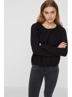 vmposh ls blouse noos 10157984 vero moda trui black