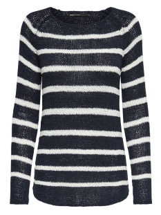 Only Trui onlTAPPY L/S STRIPE PULLOVER CC KNT 15137444 Sky Captain/Cloud Dancer