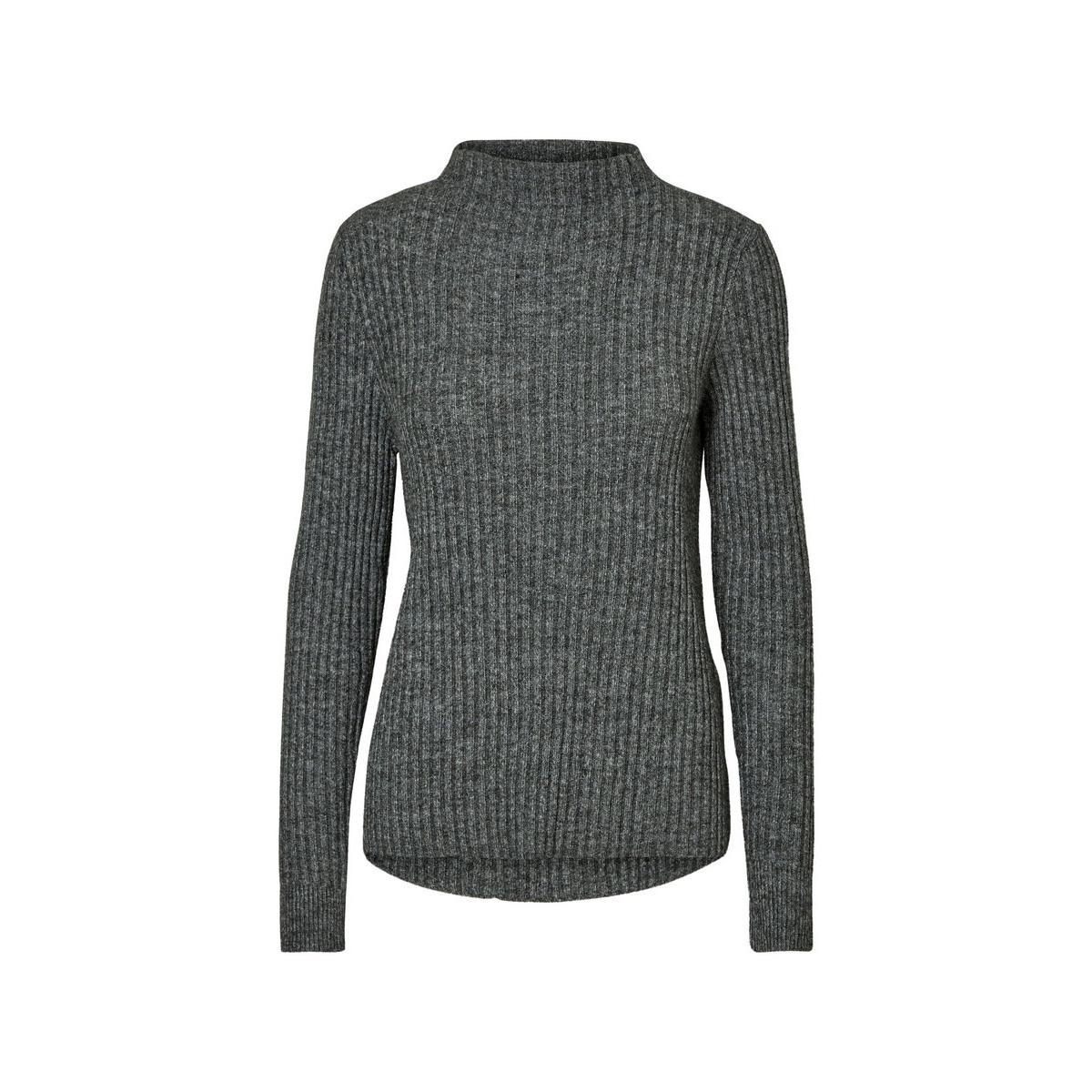 vmtia nanny funnelneck blouse boo 10177415 vero moda trui green gables/melange