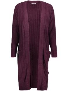 Jacqueline de Yong Vest JDYSERENA L/S CARDIGAN KNT 15137091 Potent Purple