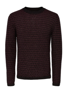 Only & Sons Trui onsDOC CREW NECK KNIT NOOS 22004485 Fudge